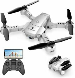 SNAPTAIN A10 Mini Foldable Drone with 720P HD Camera FPV WiFi RC Quadcopter... $57.08