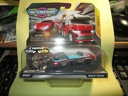 MICRO MACHINES 2020 RACE TEAM SERIES 1 #03 W RARE CHROME CHASE GT 7 amp; Transport $13.89
