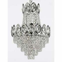 French Empire Crystal Chandelier Chandeliers Lighting Light Fixture $120.45