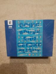 BELL HELICOPTER 200 PIECE PUZZLE GOING ABOVE AND BEYOND FLIGHT NEW $14.99