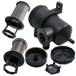 Pro 200 Vent Oil Catch Can w 2 Stainless Filters For FORD RANGER MAZDA 2 Valves $96.78