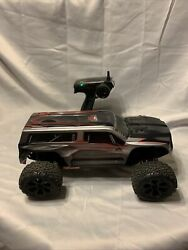 REDCAT Blackout XTE 1 10 Scale 4WD Electric RC Monster Works Great $150.00