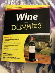 Wine for Dummies: Fifth Edition $3.50