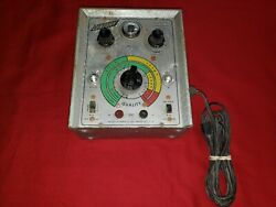 VINTAGE CENTURY MODEL CT 1 AUT0 IN CIRCUIT CONDENSER TESTER Tested Works $99.95