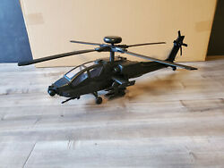 GI Joe Compatible 1:18 Apache Helicopter for 3.75quot; action figures Vehicle Only $89.99