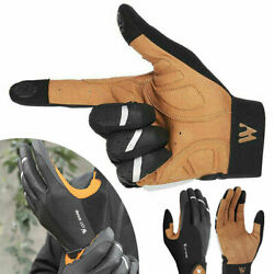 Cycling Winter Waterproof Touch Screen Full Finger Windproof Driving Gloves USA $13.04