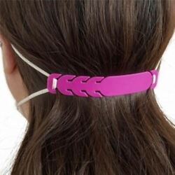 10pcs Mask Extender Strap EAR RELIEF Adjustable Mask Holder for Adults and Kids $6.99