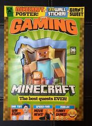 110% GAMING Magazine #36 With FREE GIFTS MINECRAFT Wall Sticker and A2 Poster GBP 4.99