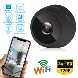 Mini 1080P HD IP Camera Wireless WiFi Security Camcorder Night Vision DVR Gift $13.48