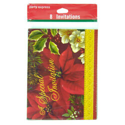 Hallmark Party Express Christmas quot;A Special Invitationquot; 32 PACK $9.99