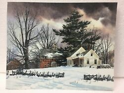 8 X 10 Winter Print Country Primitive Home Decor Pictures $8.95