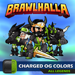 Brawlhalla Charged OG Colors All Platforms $3.99