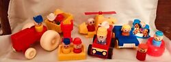 Vintage Little Play People and Vehicles Lot 1970#x27;s Knockoffs $15.00
