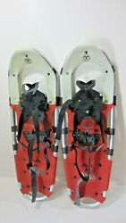 Tubbs Aurora 25 Inch Snowshoes Snow Shoes Made in USA Aluminum Pair A $59.94