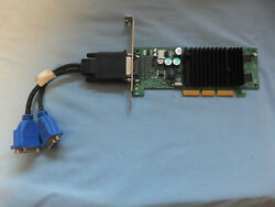 MSI Model 8890 Ver 100 nVidia GPU Graphics Card with Dual Video Cable Tested $54.95