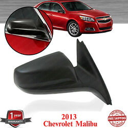 Power Mirror Right Passenger Side Heated Textured For 2013 2016 Chevrolet Malibu $54.50