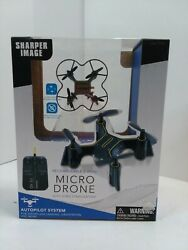 New Sharper Image DX 1 Rechargeable 2.4GHz Micro Drone With Gyro Stabilization $19.99