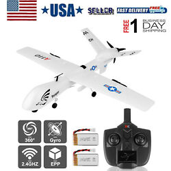 RC Plane A110 Airplane 2.4GHz 3CH 6 Axis Gyro RTF Plane Ready to Fly 530mm Wings $59.99