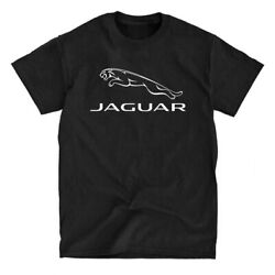 Jaguar Logo Black T Shirt