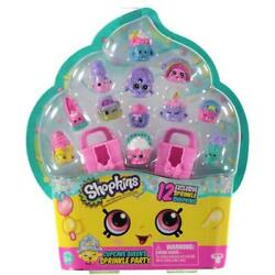 Shopkins CUPCAKE QUEEN#x27;S SPRINKLE PARTY 12 Exclusive Glitter Shopkins New Sealed $24.95