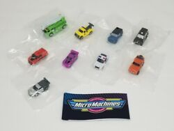 Micro Machines 2020 Series 1 Blind Bags Opened But Closed In Clear Bag $30.00