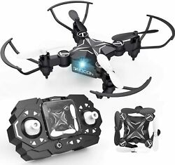 Mini Drones for Kids Portable Pocket Quadcopter with Altitude Hold Mode One $55.81