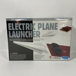 4M Electric Plane Launcher Kit Fun Mechanics Paper Airplanes Sealed In Box $19.99