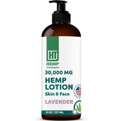 Hemp Body Lotion Infused Organic For Pain Relief Hemp Lotion Levander 8 OZ $15.99