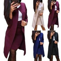 Womens Ladies Bodycon Dress Blazer Coat Set Formal Office Party Dresses Outfit $41.51