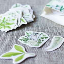 Mini Botanical Flower Stickers for Craft Scrapbooking $20.55