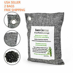 Air Purifying Bag Purifier Nature Fresh Charcoal Bamboo Mold Freshener 2 Bags $10.99