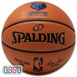 Memphis Grizzlies Spalding NBA Licensed I O Full Size Team Logo Basketball $38.88