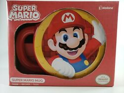 New Super Mario Shaped Red Mug Collectible Gift Cup Paladone 🎁 $20.84