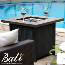 32quot; Backyard Gift LPG Propane Gas Fire Pit Table Fireplace Patio Heater Outdoor $259.90