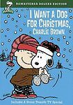 I Want a Dog for Christmas Charlie Brown DVD 2009 Remastered Deluxe Edition $10.00