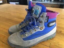 Vintage 90s TECHNICA Trekking Hiking Boots Approach Shoes 10 Goretex $55.00