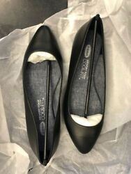 Dr. Scholls quot;Reallyquot; Black Leather Flat Women#x27;s Multiple Sizes Brand New $12.60
