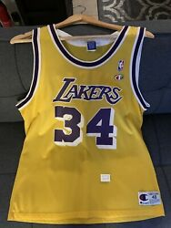 Los Angeles Lakers Shaq Jersey Champion Size XL 48 $70.00