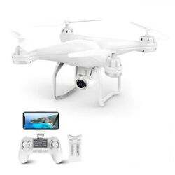 Potassic T25 Drone 1080P HD Camera RC Quadcopter FPV GPS Drones with Carry Case $159.57