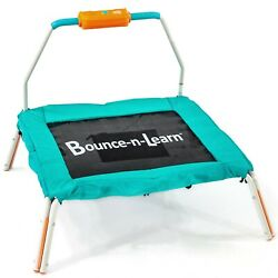 Mini Bouncer Language Learning Powder coated Steel Frame Home 36 Inch Square $64.77