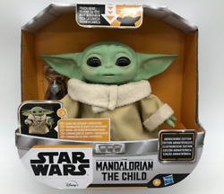 Star Wars Mandalorian Baby Yoda Grogu The Child Animatronic Edition Toy IN HAND $84.95