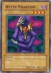 Yugioh Witty Phantom SDY 017 Common Unlimited Edition Near Mint English $0.99