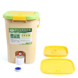 Recycle Composter HDPE Aerated Compost Bin Kitchen Food Waste Bokashi Bucket 21L $50.00