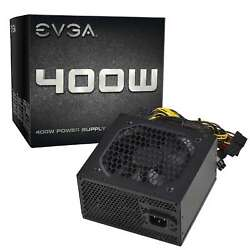 EVGA Power Supply 400 Watts 400W 100 N1 0400 L1 $42.95
