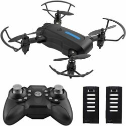 Mini FPV Drone Foldable Drone RC Quadcopter with Altitude Hold Headless Gift $29.88