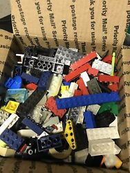 Lego 3 Lbs Of Random Old Parts Bricks Building Pieces Net Weight 3 Pounds $15.00
