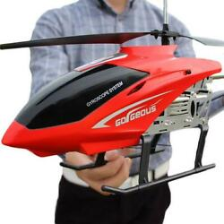 Super Large remote control aircraft anti fall helicopter charging toy 3.5CH $78.41