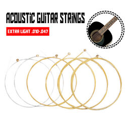 3 x Set of Guitar Strings Replacement Steel String for Acoustic Guitar $7.05