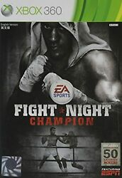 Fight Night Champion For Xbox 360 Boxing Game Only 4E $17.60