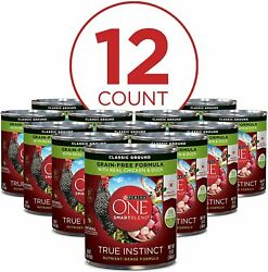 Adult Canned Wet Dog Food Grain Free Chicken amp; Duck For Immune Health 12 Pack $22.05